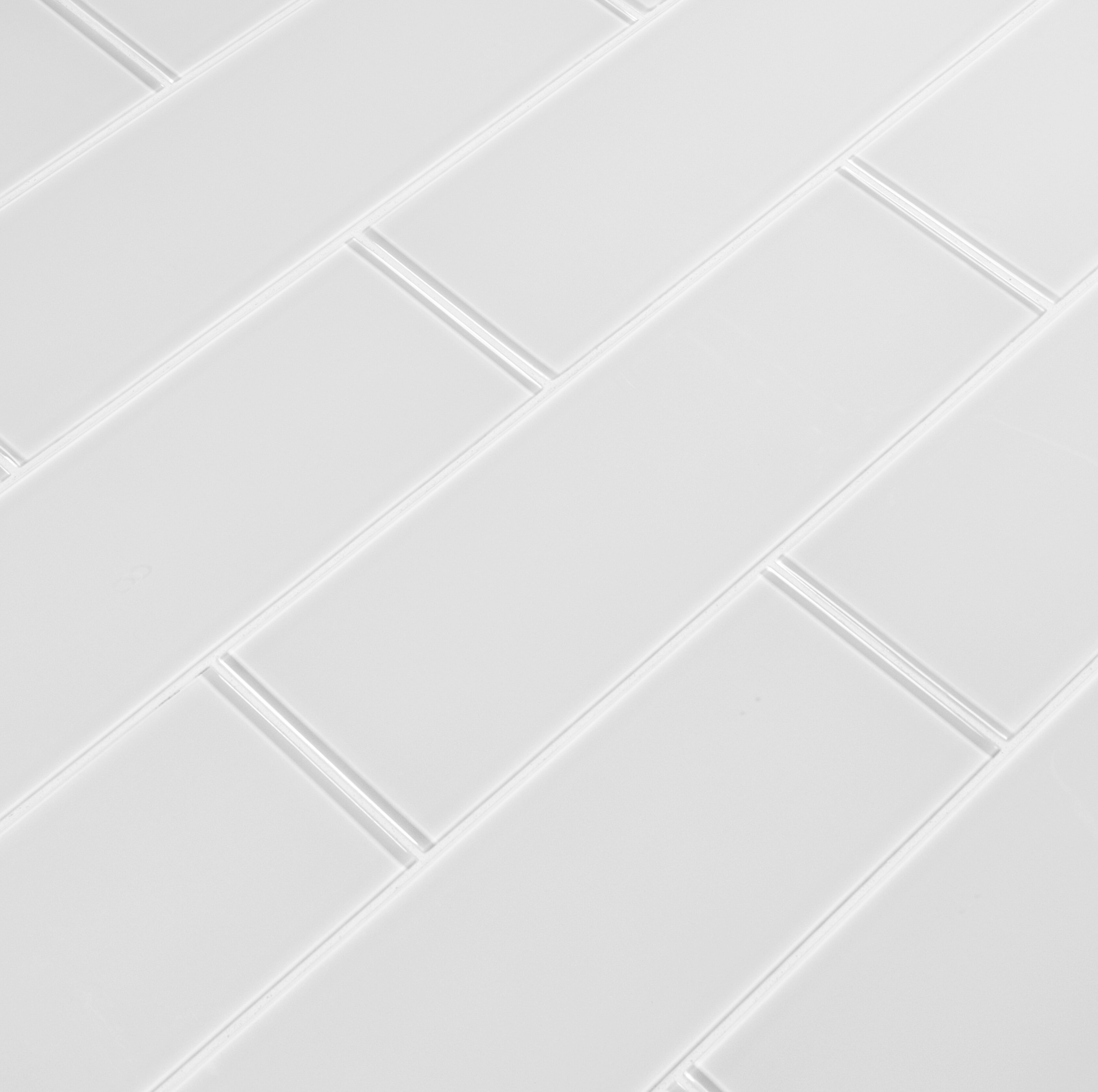Msi 4 X 12 Glass Tile In Ice Glass Wayfair