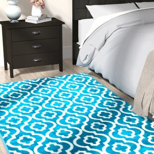 Best Choices Spaulding Turquoise Indoor/Outdoor Area Rug By Andover Mills