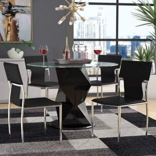 Ashli Upholstered Dining Chair (Set of 4) Orren Ellis