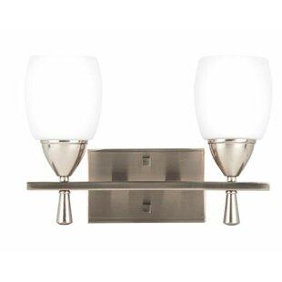 Ebern Designs Philpott 2-Light Vanity Light