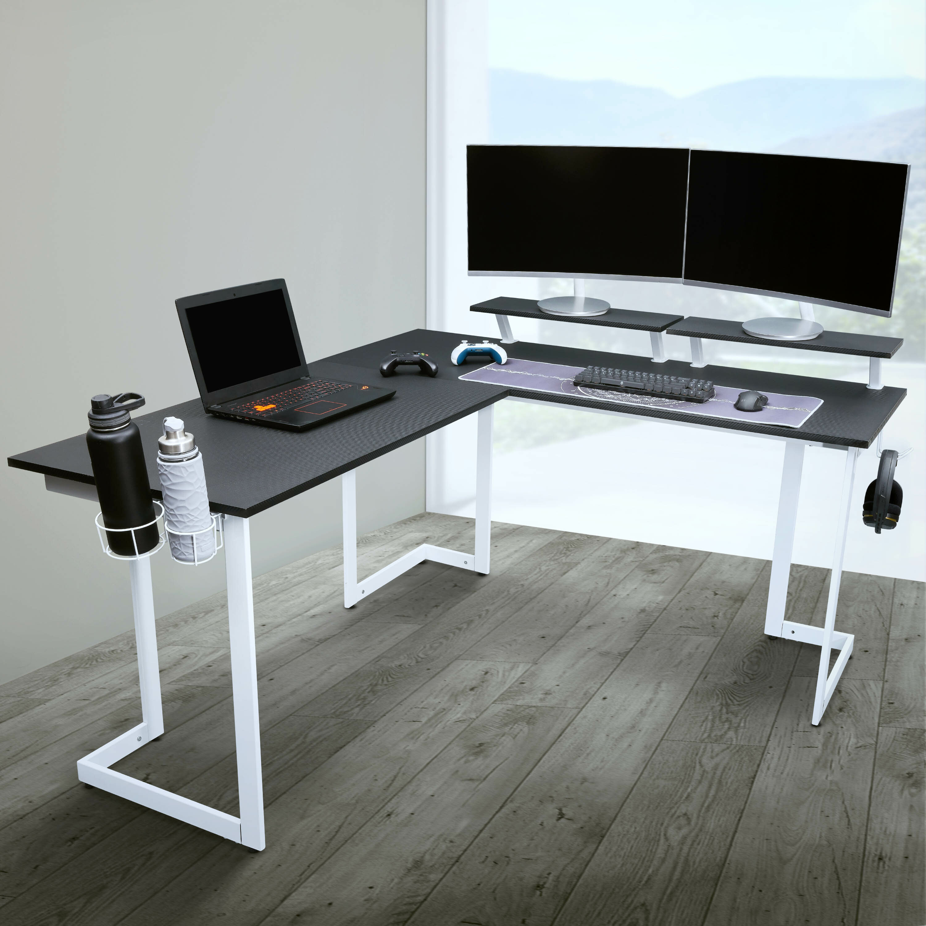 Picture of: L Shaped Gaming Desks You Ll Love In 2020 Wayfair