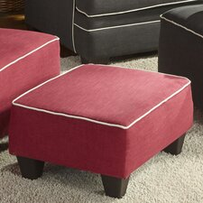 Hypnos Small Ottoman by Flair