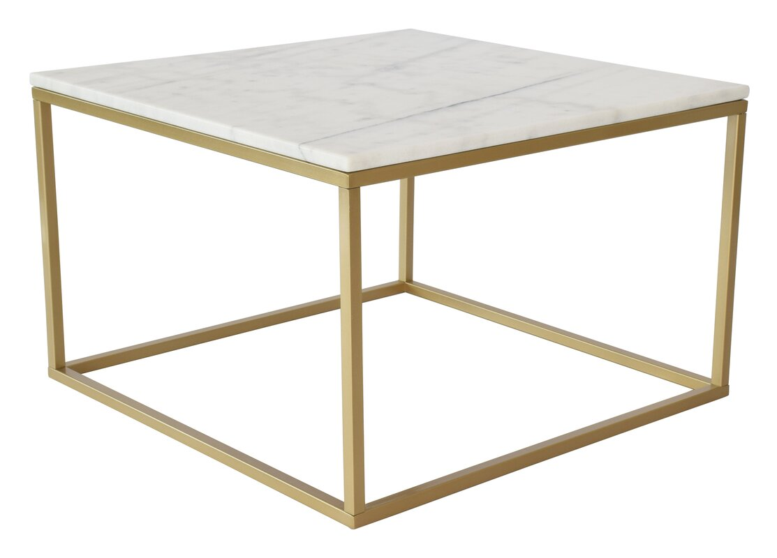 Marble Square Coffee Table