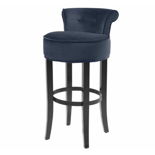 Pleasant Edwina Bar Counter Swivel Stool By Darby Home Co Low Price Bralicious Painted Fabric Chair Ideas Braliciousco