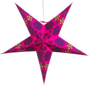 Hometown Evolution, Inc. Hearts and Stars Paper Star Light