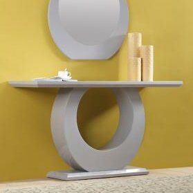 Camron Console Table with Mirror by Orren Ellis