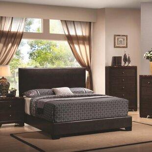 Charlton Home Tanner Upholstered Panel Bed
