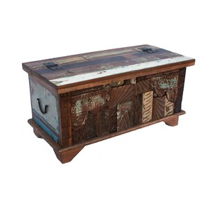 Selen Trunk Coffee Table With Lift Top By World Menagerie