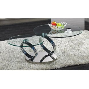 Rhonda Modern Swiviling Coffee Table