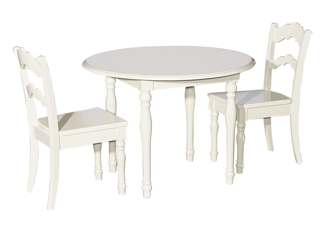 Anton 3 Piece Table And Chair Set
