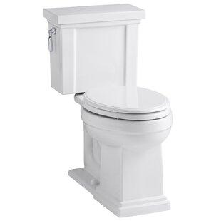Kohler Tresham Comfort Height 1.28 GPF Elongated Two-Piece Toilet
