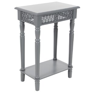 Berkshire Wood End Table by Alcott Hill