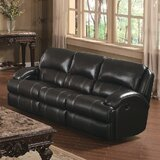 Tristen Reclining 84 Recessed Arm Sofa by Darby Home Co