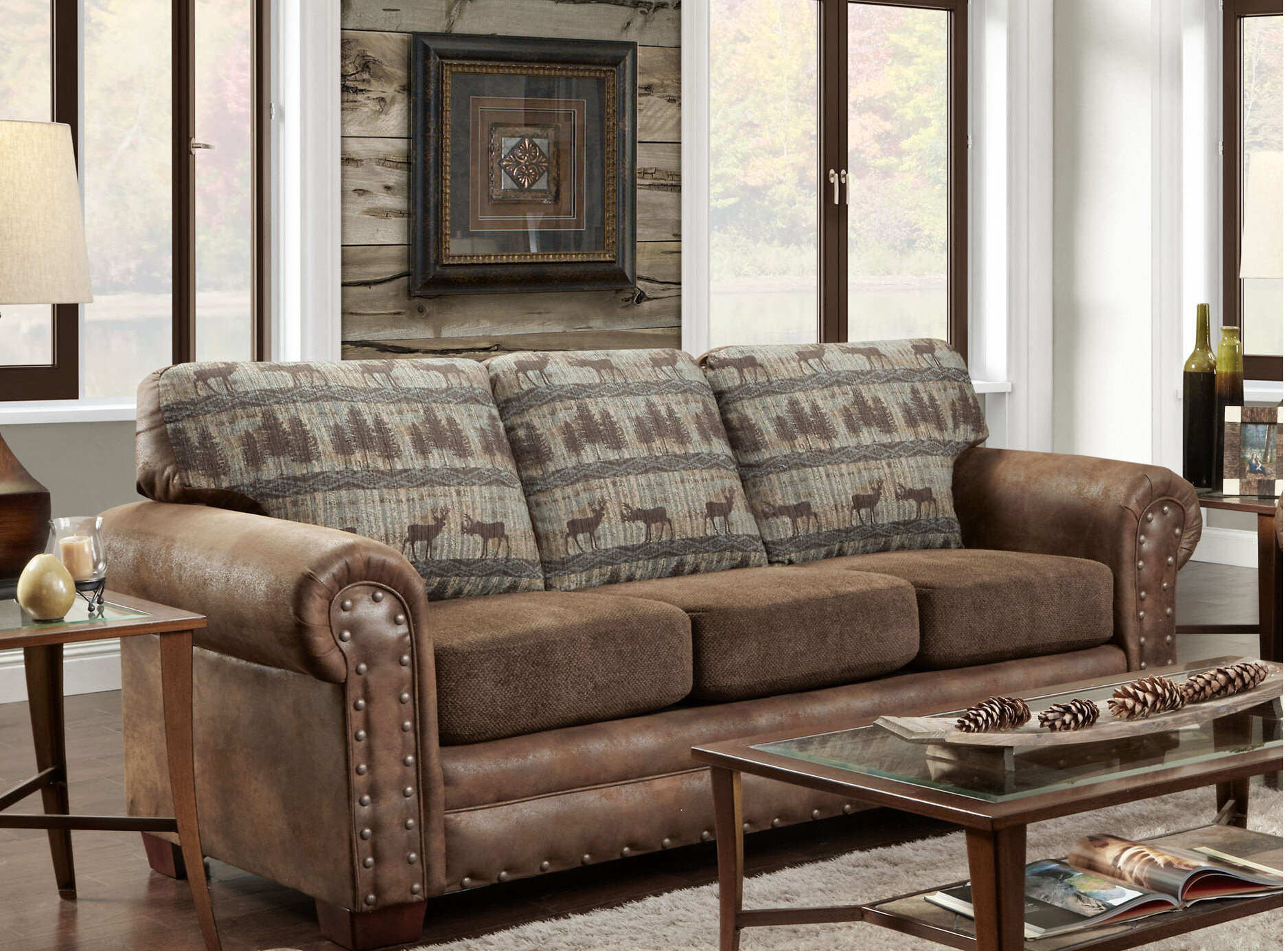Awesome American Furniture Classics Deer Lodge Sofa | Wayfair