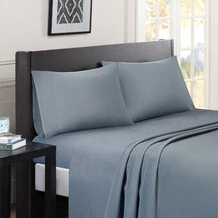 Compare Calderwood Solid Sheet Set ByBeachcrest Home