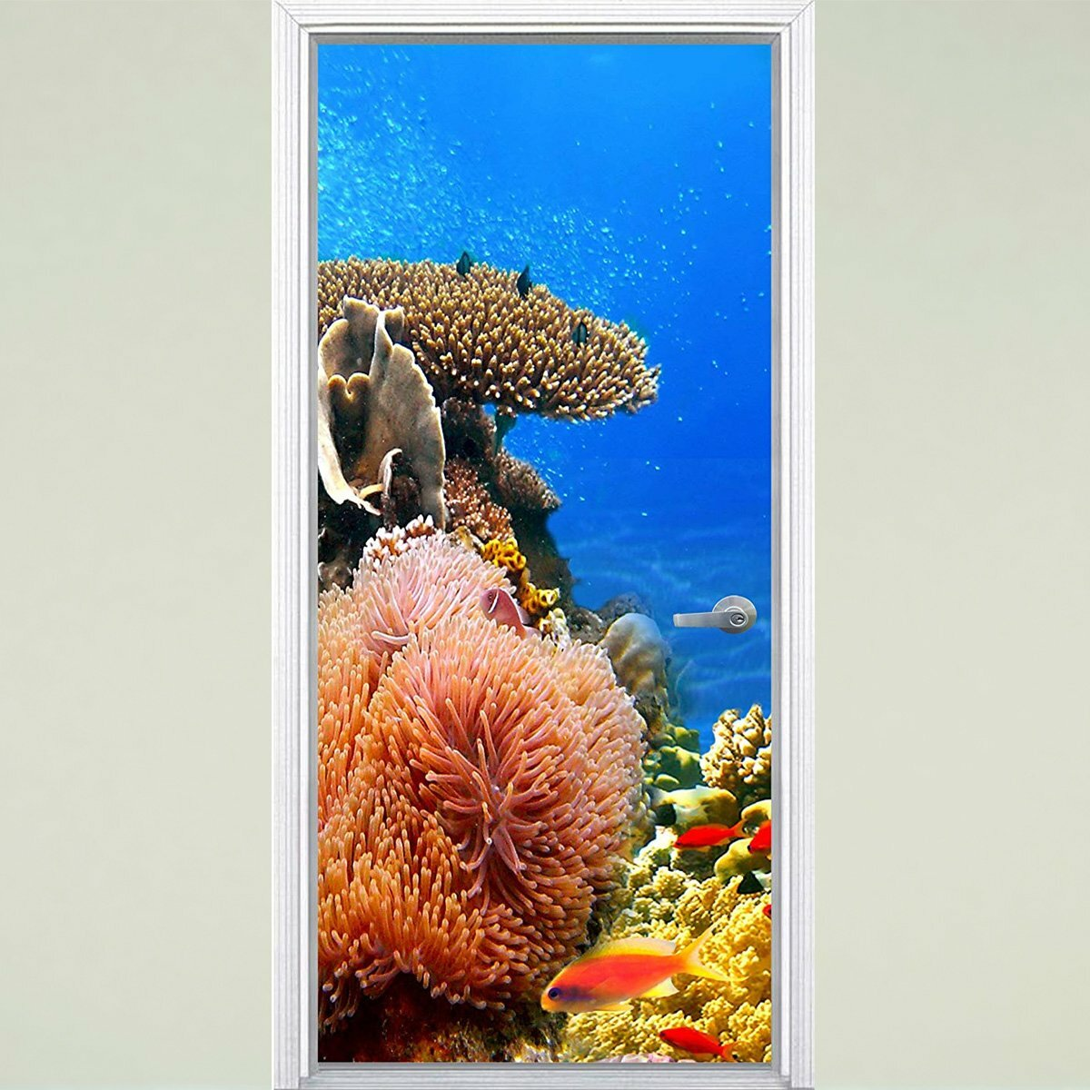 Wall Decals Large Coral Reef Branch Vinyl Art Interior Decor Etsy