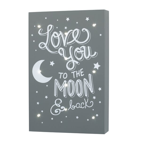 Love You To The Moon And Back Wayfair