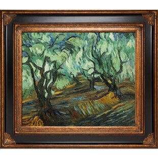 6324d766ad Olive Tree by Vincent Van Gogh Framed Painting