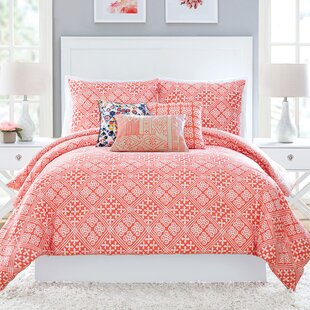 Cuban Tiles Cotton Reversible Comforter Set