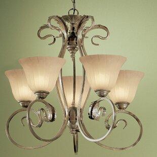 Classic Lighting Manilla 5-Light Shaded Chandelier