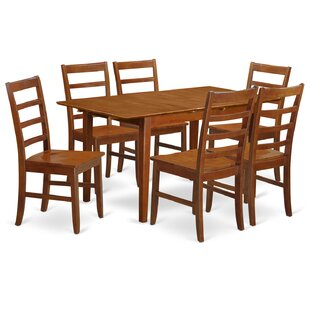 Picasso 7 Piece Dining Set Wooden Importers