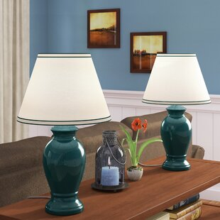 Cabrini Ceramic 21.5 Table Lamp (Set of 2)