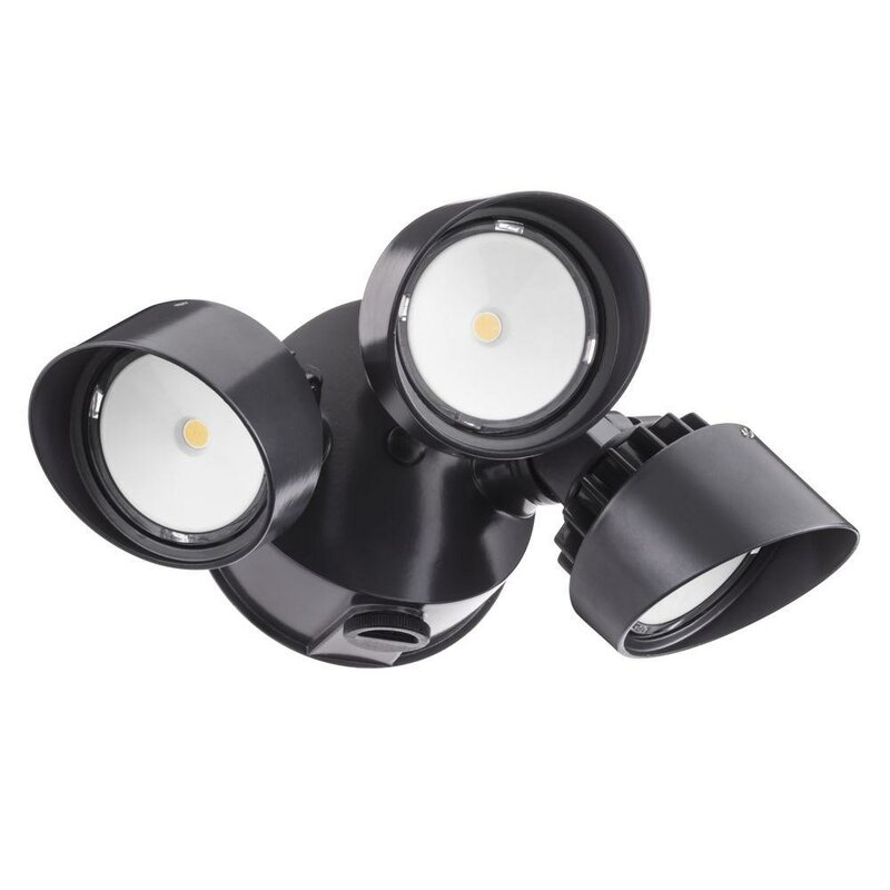 Outdoor Spot Light Lithonia lighting olf led 3 light outdoor spotlight reviews wayfair olf led 3 light outdoor spotlight workwithnaturefo