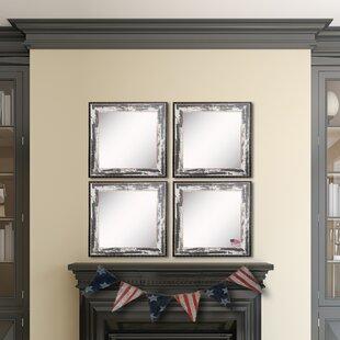Buying Letendre Rustic Seaside Wall Mirror (Set of 4) ByRosecliff Heights