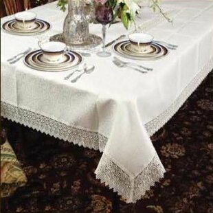 Alienor Rectangular Lace Tablecloth