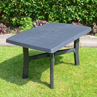Lucius Plastic Dining Table By Sol 72 Outdoor