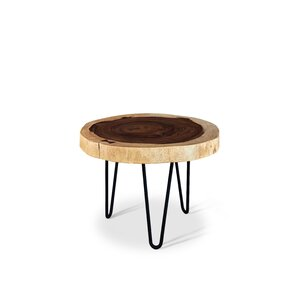 Anissa Pinto End Table by Union Rustic