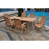 Madera Luxurious 7 Piece Teak Dining Set