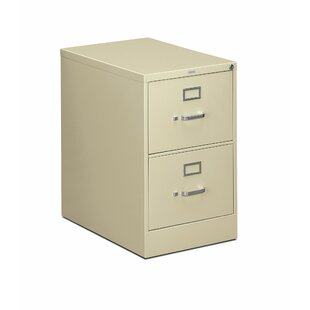 310 Series 2-Drawer Vertical Filing Cabinet by HON Wonderful