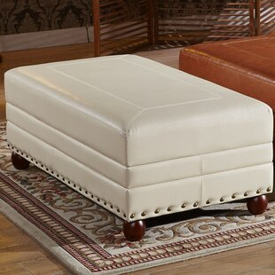 Leopold Royal Stitching Cocktail Ottoman by Corzano Designs