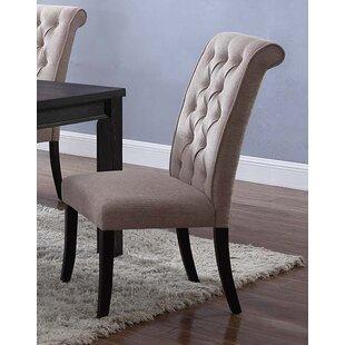 Charlton Home Sibert Upholstered Dining Chair (Set of 2)