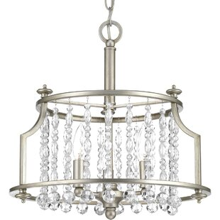 House of Hampton Joines 3-Light Semi Flush Mount