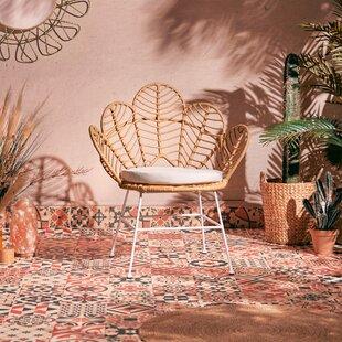 Ismene Garden Chair With Cushion By Bay Isle Home