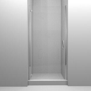 Swinging 25 x 73 Hinged Semi-Frameless Shower Door by Arizona Shower Door