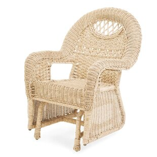 Prospect Hill Glider Chair by Plow & Hearth