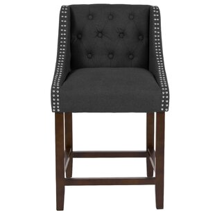Enriquez 24 Bar Stool Alcott Hill