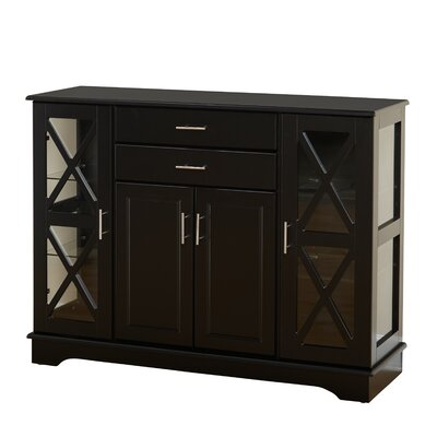 Legere Sideboard Color: Black by Andover Mills