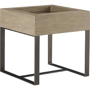Mcguire End Table by 17 Stories
