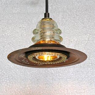 Railroadware Insulator Light Bell Pendant