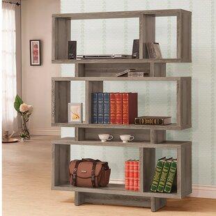 Mcauliffe Geometric Bookcase by Ivy Bronx