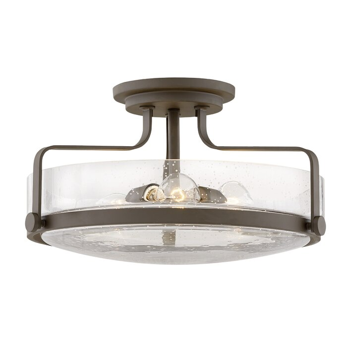 Harper 3 Light Semi Flush Mount