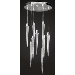 Ice 9-Light LED Cluster Pendant by Prismatrix?