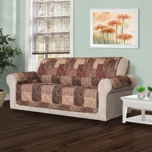 Reviews T-Cushion Sofa Slipcover by August Grove Reviews (2019) & Buyer's Guide