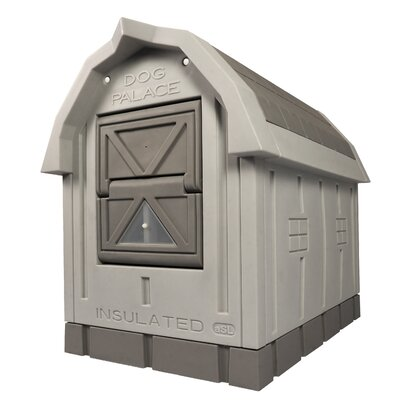 Dog Palace® Premium Insulated Dog House Dog Palace