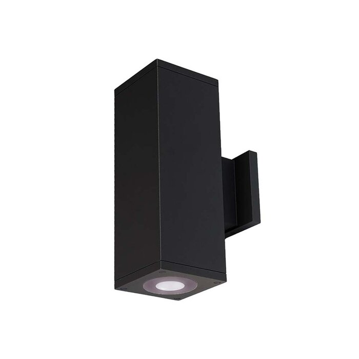 Cube Architectural 2 Light Led Outdoor Sconce