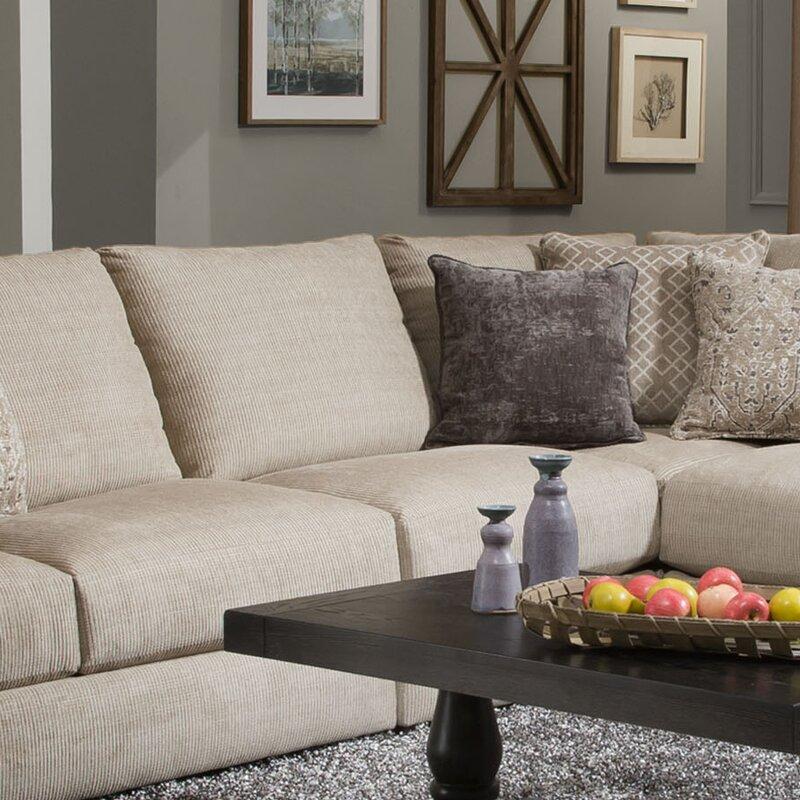Lane Furniture Weston Putty Sectional Wayfair